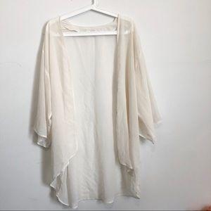 H&M cream kimono cardigan